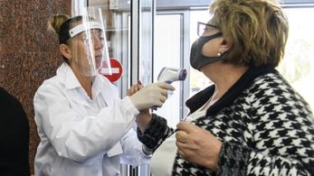 Ukrajnában újabb három és fél ezer fertőzöttet regisztráltak