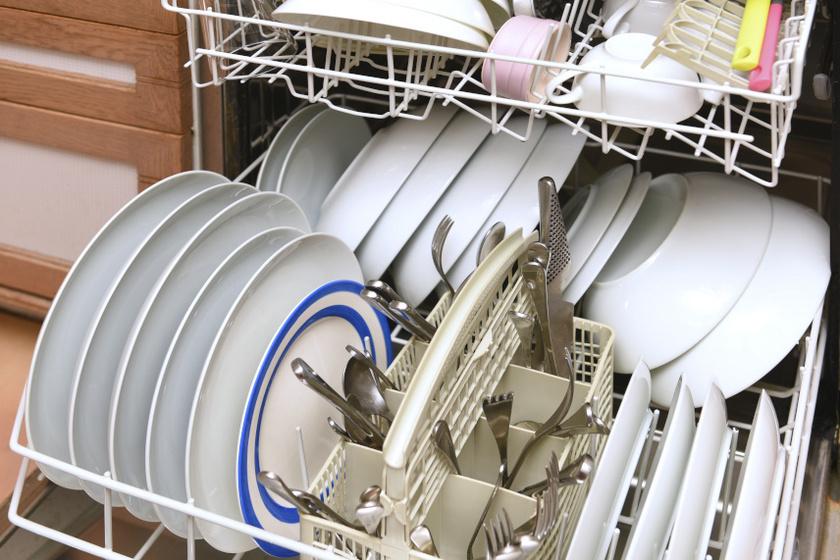 mosogatógép belső