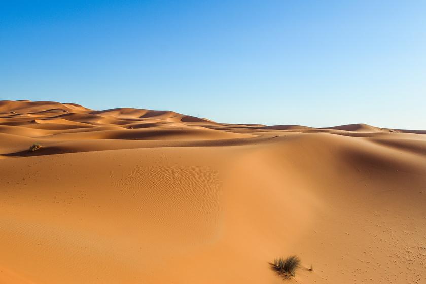 120 ezer éves emberi lábnyomokra bukkantak a sivatagban - Különös dologra jöttek rá a tudósok