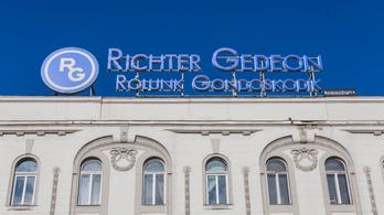 A Richter húzta pluszba a BUX-ot