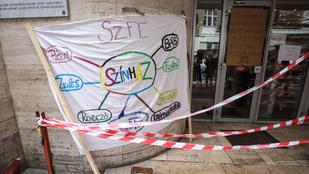 Figyelmeztető sztrájkot tartanak csütörtökön az SZFE-n