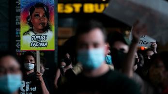 Egyetlen rendőr ellen emeltek vádat az intézkedés közben meghalt amerikai ápolónő ügyében