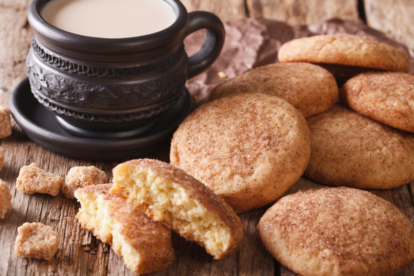 A mennyei Snickerdoodle az amerikaiak híres, fahéjas keksze: egyszerre puha és roppanós
