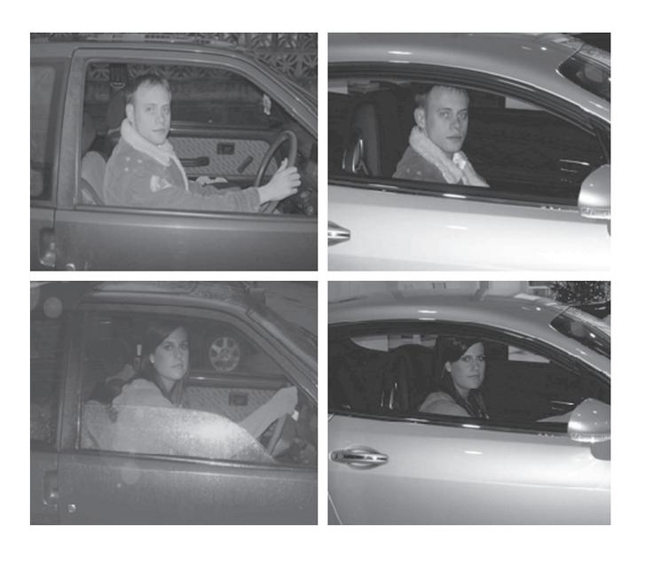 Dunn és Searle kísérletében balra a Ford Fiesta, jobbra a Bentley Continental GT.