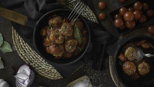 Csilis bab húsgolyókkal – ezzel nem lesz sok munkád