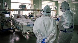 Újabb rekordot döntött koronavírus-fertőzések száma Oroszországban