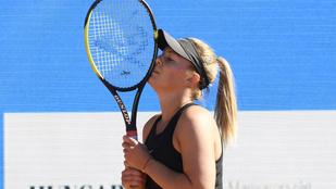 Karnyújtásnyira a főtábla Gálfinak a Roland Garroson