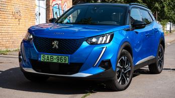 Teszt: Peugeot e-2008 eGT Line – 2020.
