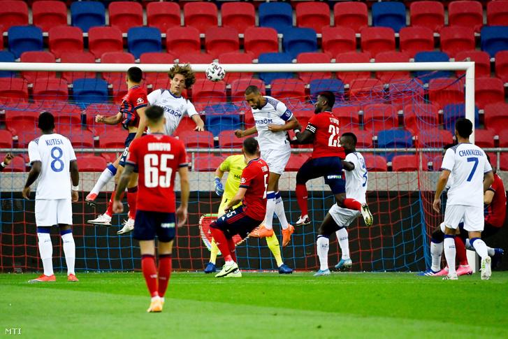 Az első félidőben a küzdelem dominált a Vidi Reims elleni El-meccsén
