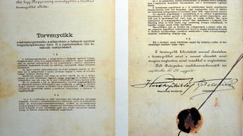 100 éve fogadták el az antiszemita numerus clausust