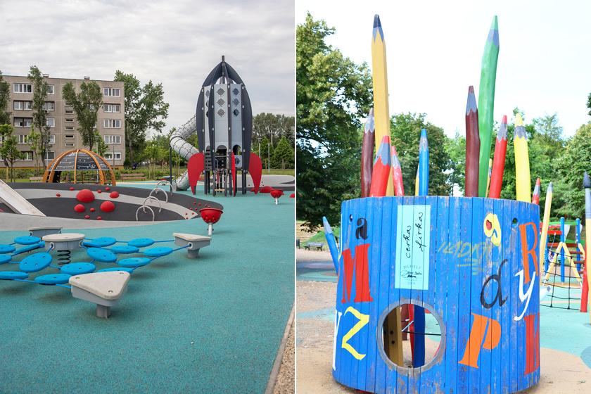 Ezek Budapest legszuperebb játszóterei: mintha meseországba csöppennének a gyerekek