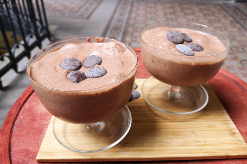 görög joghurtos csokimousse recept