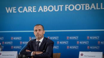 Rendkívüli szabályokat fogadott el az UEFA