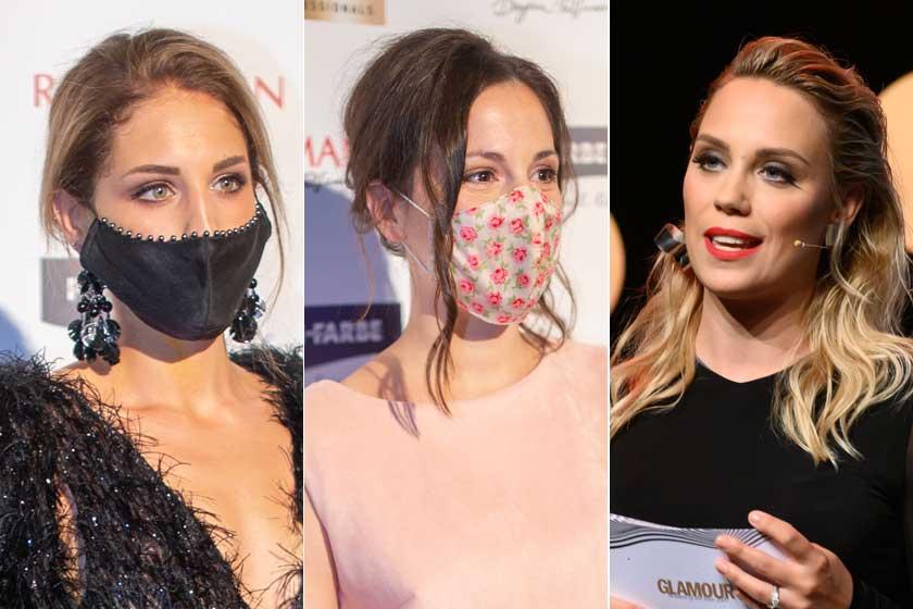 Nyári Dia a Glamour-gálán csillogó estélyiben ragyogott - Képeken az est gyönyörű ruhái