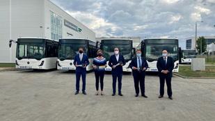 Debrecenben szerelt autóbuszokkal bővült a Volánbusz járműállománya
