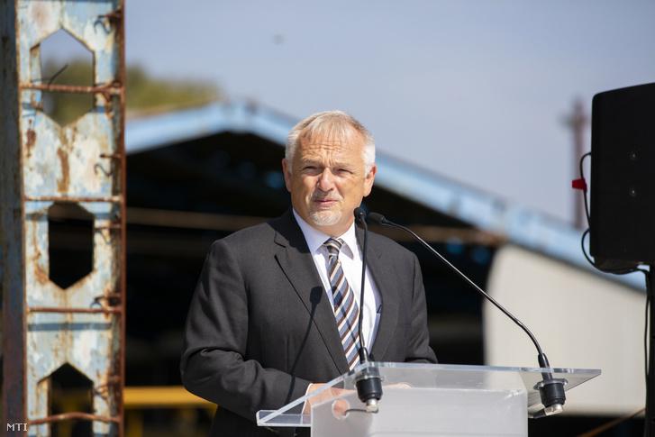 Hernádi Zsolt, a Mol elnök-vezérigazgatója