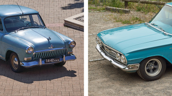 Volga M21 vs. Chevrolet Bel Air