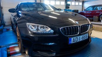 Ajándék lóerők a BMW M6-ban?