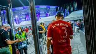 Elítélték a brit szurkolót, aki be akart rohanni a pályára a Szuperkupa meccsen