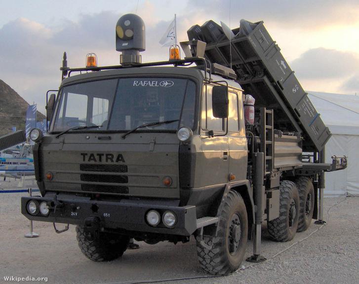 Spyder mobil légvédelmi rendszer