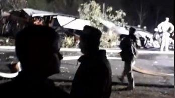 Lezuhant egy ukrán katonai szállítógép