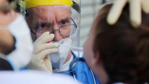 Öthavi csúcsra emelkedett az új koronavírusos esetek száma Németországban