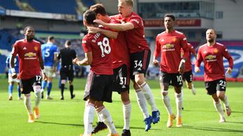 Drámai végjáték, a 100. percben szerzett góllal nyert a Manchester United