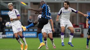 Fordulatos, hétgólos meccsen győzte le az Inter a Fiorentinát