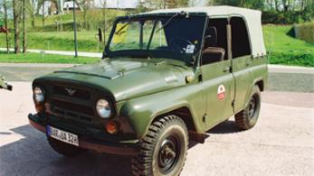 Teszt: UAZ 469B