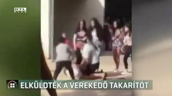 Kirúgták a nagydarab férfit, aki megvert egy 16 éves fiút a pécsi általános iskola bejáratánál