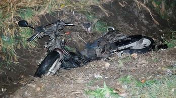 Cserbenhagyásos balesetben meghalt egy motoros