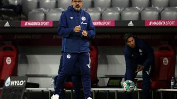 Menesztette vezetőedzőjét a Schalke