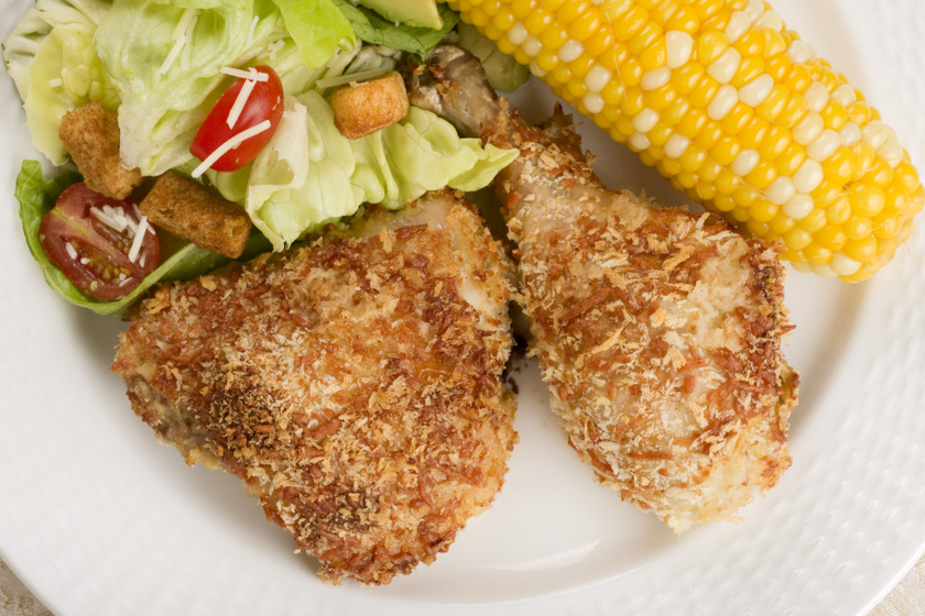 pankó csirke belső