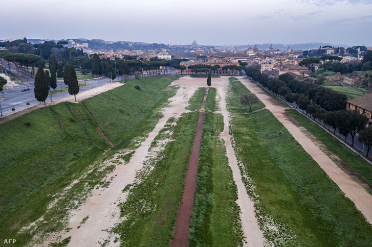 A Circus Maximus 2020 márciusában