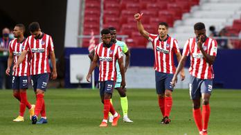 Suárez kettőt, az Atlético Madrid hatot lőtt első bajnokiján