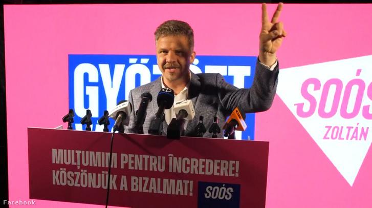Soós Zoltán győzelmi beszéde 2020. szeptember 27-én este Marosvásárhelyen.