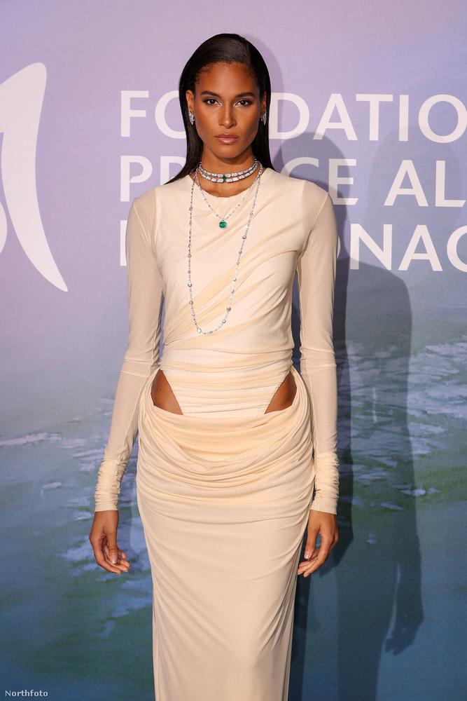 Cindy Bruna, modell pedig egy igazán izgalmas villantást művelt a vörös szőnyegen