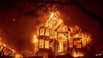 Hatalmas erdőtűz pusztít Kaliforniában