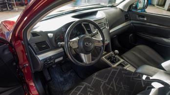 Gyanúsan olcsó Subaru, nevetséges fogyasztással