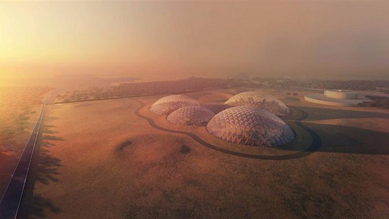 Mars bázis épül az Egyesült Arab Emirátusok sivatagjában