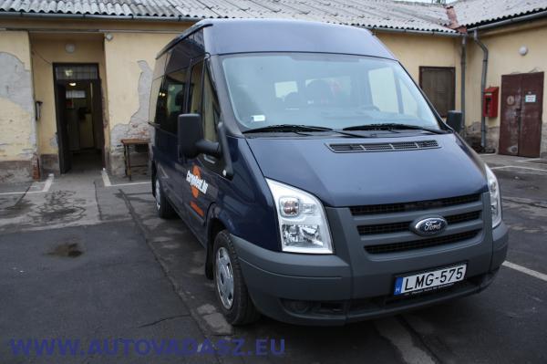Ford Transit, rendszáma: LMG-575