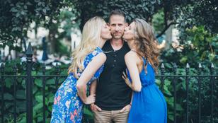 Ez a férfi 19 év után vált el a feleségétől, hogy két másik nővel élhessen
