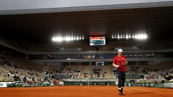 Ilyen gyorsan még nem kapott ki Grand Slamen Andy Murray