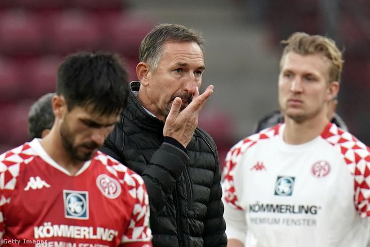 Achim Beierlorzer már nem a Mainz vezetőedzője