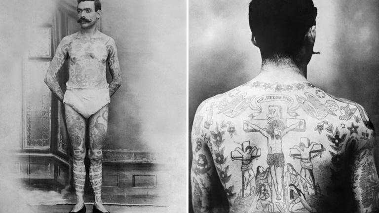 Múltba forduló művészet a tetoválás