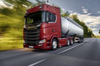 Megint a Scania az utak királya