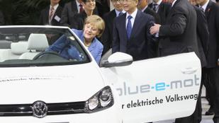 Előretörnek a német elektromos autók Kínában