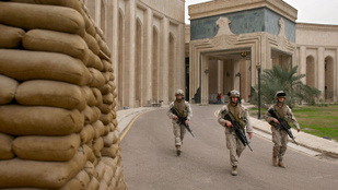 Bezár az amerikai nagykövetség Bagdadban
