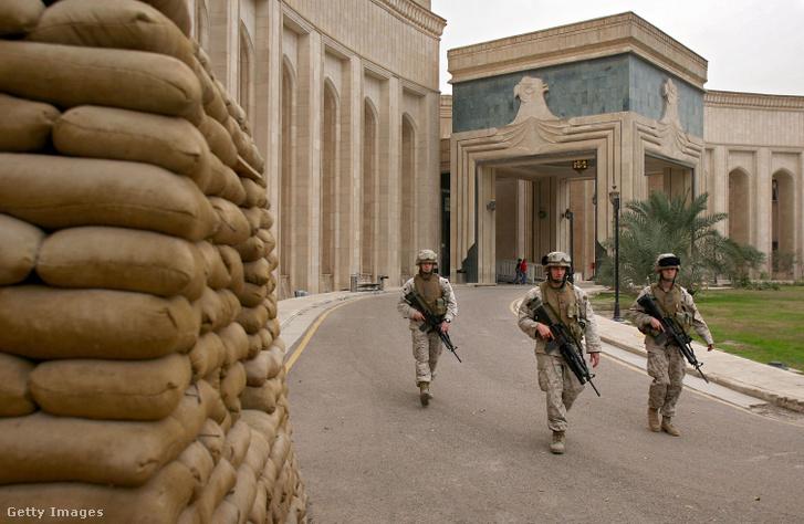 Amerikai nagykövetség Bagdadban