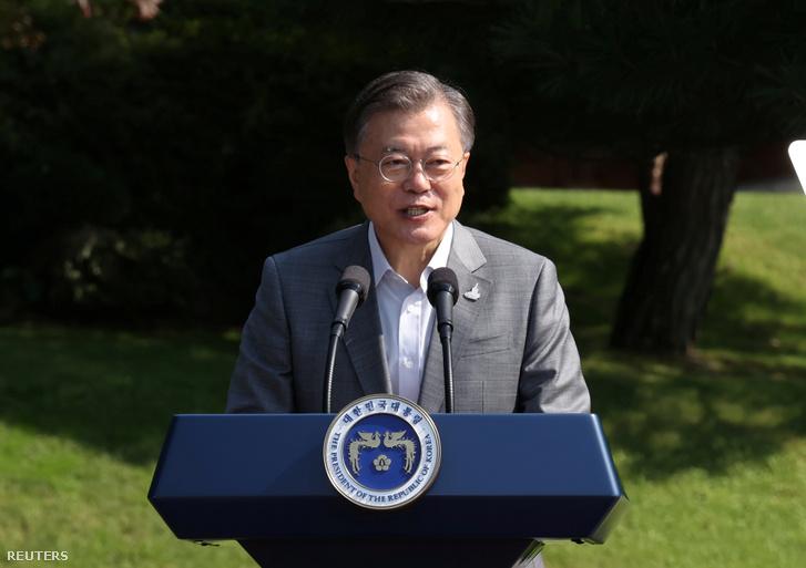 Mun Dzse In Dél-Koreai elnök